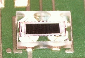 Single Photodiode with identical Outer Dimensions